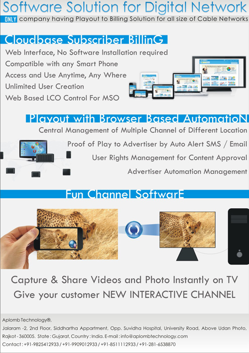 TV Channel Automation Playout software solution